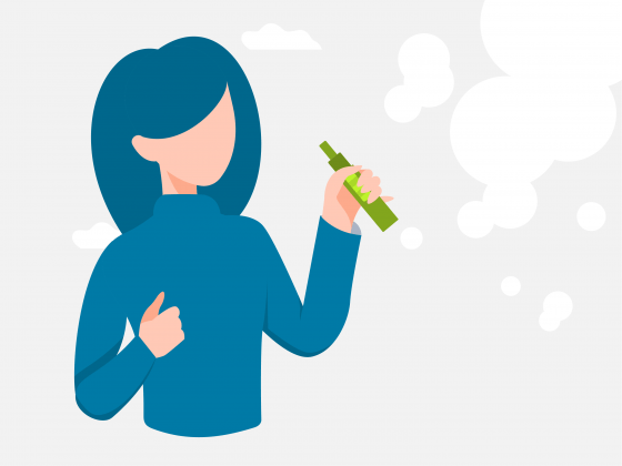 5 Health benefits of vaping instead of smoking cannabis, a runner's guide