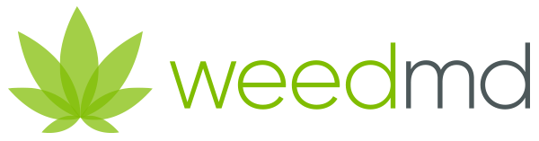 Weedmd logo cannabis